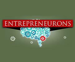 Logo that says Entrepreneurons