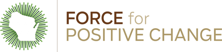 Logo that says Force for Positive Change