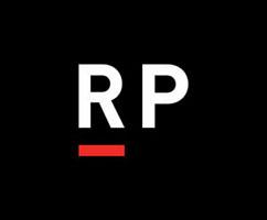 Logo that says RP