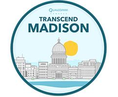 Logo that says Transcend Madison