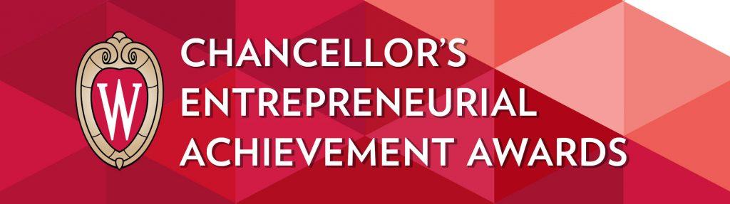 Graphic that says: Chancellor's Entrepreneurial Achievement Awards