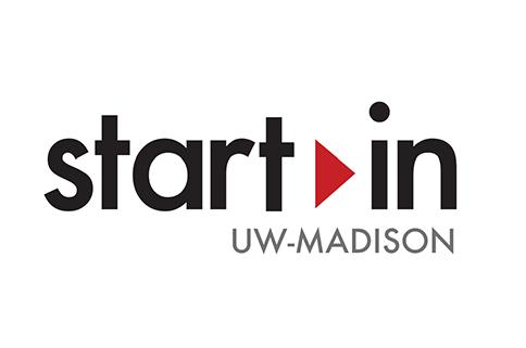Logo that says Start In UW Madison