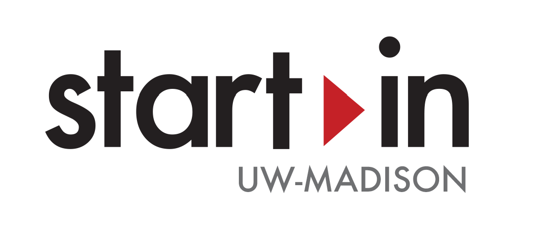 Logo that says Start In UW-Madison